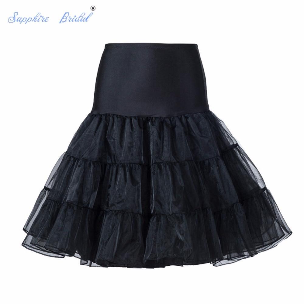 Detalle Comentarios Preguntas sobre En el envío corto organza enagua  crinolina vintage Boda nupcial enagua para los vestidos de boda underskirt  rockabilly ... 2ed1821e0dbf