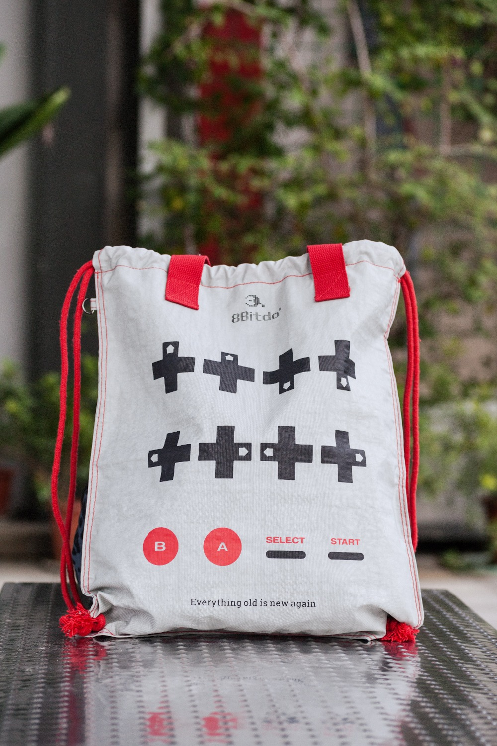 Official 8BitDo CONBAG Beam Port Bag Waterproof Fold Reticule Backpack Game Style(China)
