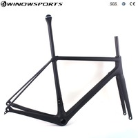 2019 Ultra Light DISC Carbon Fiber Road Bike cycling frame thru axle142*12 bicycle bicicleta frame chinese disc road frameset