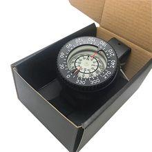 1 шт., прочный пластиковый Компас для дайвинга, часы, водонепроницаемые, карманный размер, на открытом воздухе, для кемпинга, походов, снаряжение, портативный аксессуар для выживания
