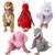 24 Estilos Animal Disfraces Cosplay Conjuntos de Trajes de Halloween Para Crianças Meninos Vestuário Meninas roupas de Natal das Crianças 2T-9Y