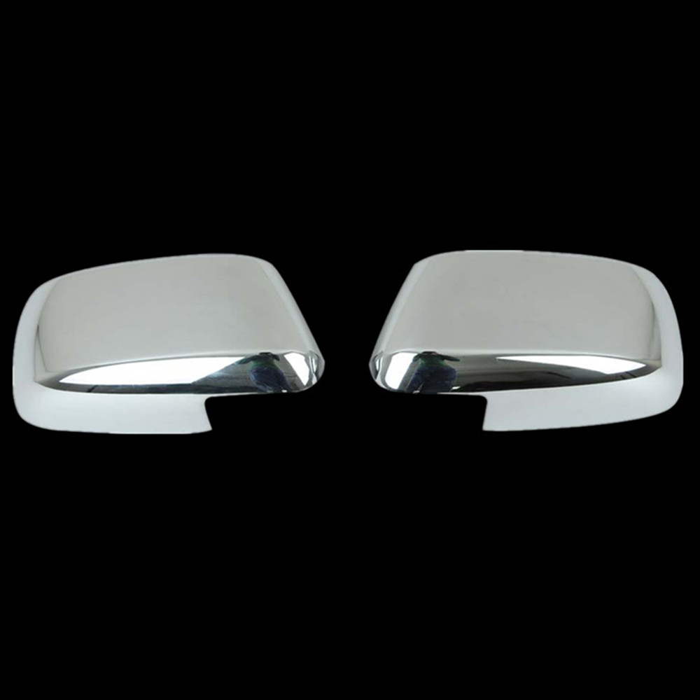 FOR 05 06 07 08 09 10 11 12 Nissan Armada Chrome 2 REAR Door Handle Covers