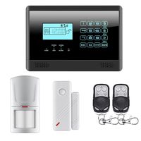 M2E Wireless GSM SMS TEXT Touch Keypad Home House Alarm System Touch Screen High Quality Sensors