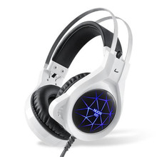 LED Glowing Gaming Headset Good Bass Earphone Gamer Casque audio Computer Headphone with Mic For PC player PS4 headset