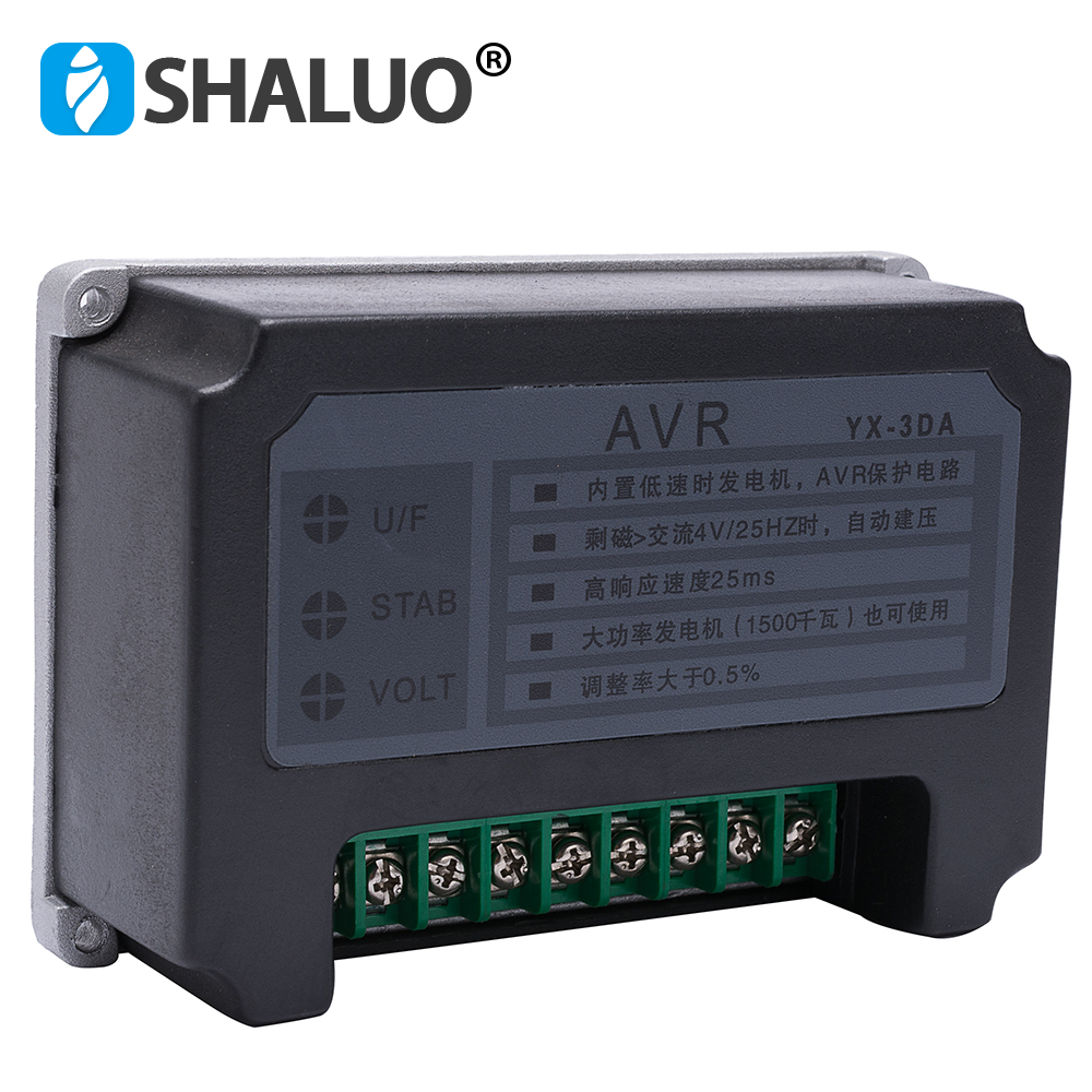 3DA Automatic Voltage Regulator AVR Building Protecting Circuit Chinese Big power 1500KW Diesel generator part  for Generator 3DA Automatic Voltage Regulator AVR Building Protecting Circuit Chinese Big power 1500KW Diesel generator part  for Generator