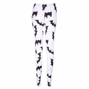 Image 2 - Klv kỹ thuật số batman prints xà cạp phụ nữ thời trang slim quần thun quần new