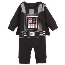 Baby Boys Cartoon Fancy Long Sleeve Romper Costume