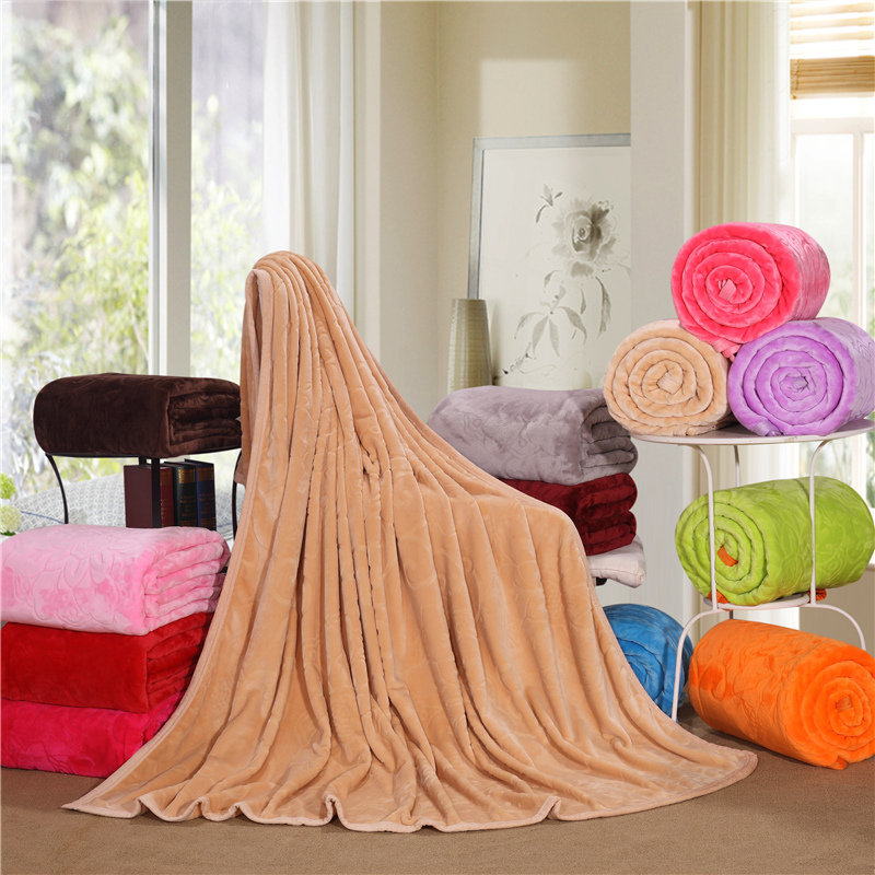 Solid Color Afghan Throw Blanket Strips - Top Porn Images-4293