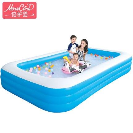 Piscine pour bébé et enfants gonflable famille bébé adulte maison marine piscine à balles épaississement surdimensionné pataugeoire