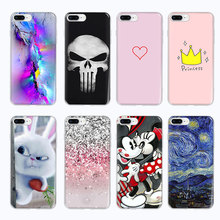 Queen crown Soft TPU Phone Case For iphone 7 8 6 6s plus 5 5S SE Case For iphone X Xs Max XR Cover Graffiti Painted Cases store painted plastic phone case for iphone 5 5s