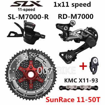 SHIMANO DEORE SLX M7000 Groupset MTB Mountain Bike 1x11-Speed 46T 50T SL+RD+SUNSHINE+X11.93 M7000 Shift Lever Rear Derailleur
