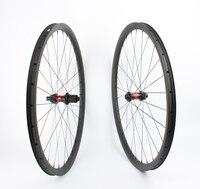 Farsports FS29T 30 30 DT240 UD матовая Через ось 29er MTB довод углерода колеса, центральный замок тормозной системы горный велосипед колесной
