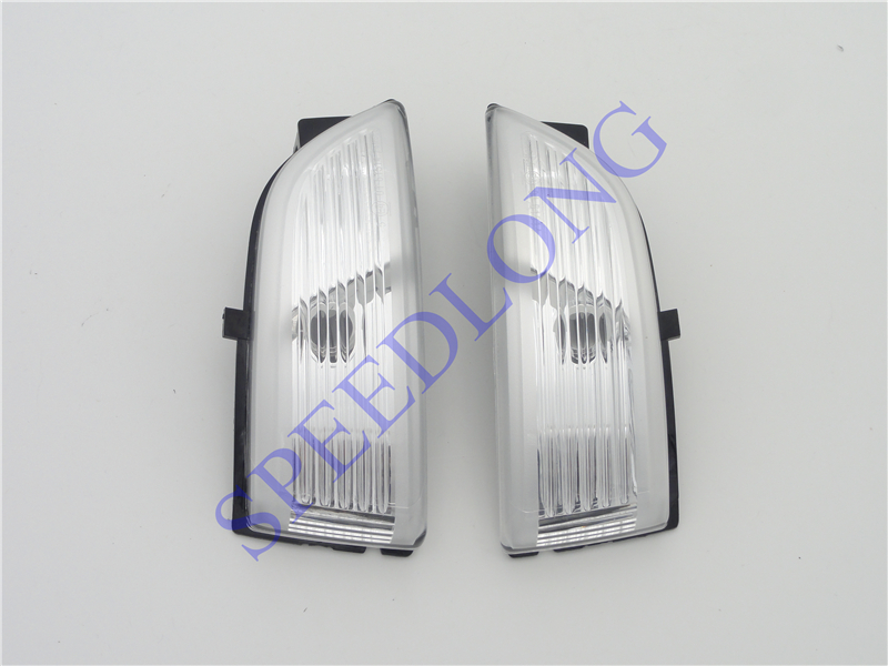 2 Pcs/Pair RH and LH exterior side mirror indicator turning signal lamps lights without bulbs for FORD EVEREST 2015