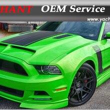Авто-Стайлинг Высокое качество Стеклопластик капюшоном подходит для 10-14 Mustang Шелби GT500 GT V6 Tru углерода A53KR Стиль заполняющий воздушный капота