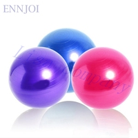 ENNJOI Fitness Yoga Topu 65 cm için Pompa ile Pürüzsüz Gym Egzersiz Pilates Yoga Topu Fitness Aletleri Egzersiz Denge Ev