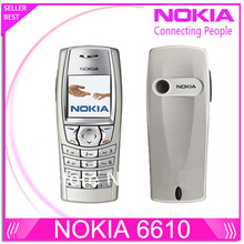 Оригинальный Nokia 6610 6610i жк-разблокирован телефон с русский и арабский клавиатура и язык прямая поставка