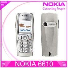 Оригинальный Nokia 6610 открыл телефон с российскими и арабский клавиатура и Язык Перевозка груза падения