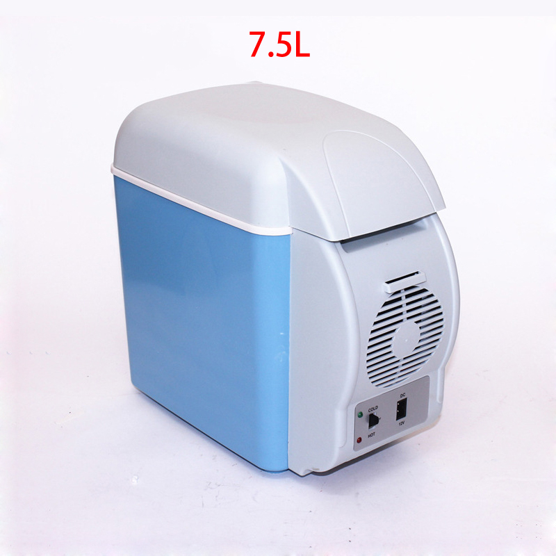 7.5 L Vehicle Refrigerator Car Type Configuration Electronic Cold and Hot Car Refrigerator Gift Portable Heat Preservation kundui suitcase large food and beverage car trunk refrigerator insulation families waterproof hot lunch bag cooler bags 61 l