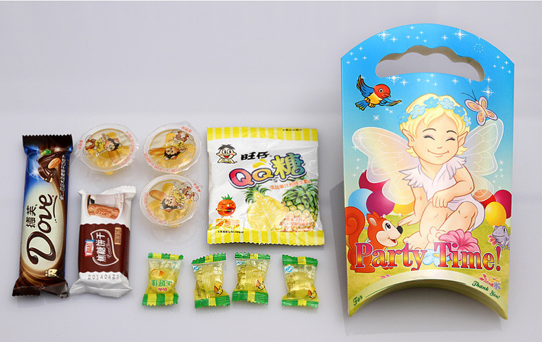 Pcs New Kids Candy Box Cartoon Gift Bags Childrens - Children's birthday goodie bags