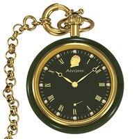 Топ Роскошные Хотан нефрит карманные мужские часы механические часы полые алмазные пилотируемые карманные часы Relogio Masculino