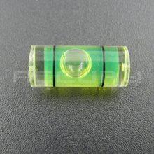 20 個 7*16 ミリメートルスピリット水準器プラスチックミニレベルプラスチックバブルレベルアクリルレベラーため壁テレビまたはハング壁絵