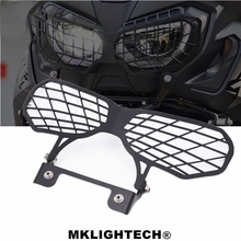 MKLIGHTECH For HONDA CRF1000L Africa Twins 2017-2019 Motorcycle CNC Headlight Guard Cover Protector