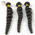 Cabelo virgem peruano onda solta personalizado 3 pcs por lote 100g por feixes cabelo tece top vendendo extensão do cabelo