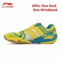 Li Ning Men S Saga Light TD Badminton Shoes Training Breathable Anti Slippery Light Sneakers Sport