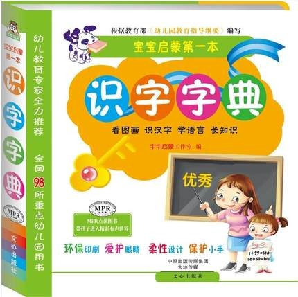 Learn To Read Literacy Chinese Characters Dictionary With Beautiful Pictures