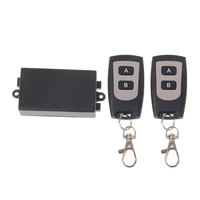 220V 10A Relay 1CH RF Wireless Remote Control Switch Transmitter 2 Receiver Kit L060 New Hot