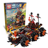 LEPIN 14018 8017 Nexus Knights Siege Machine Model Building Kits Compatible With Lego City 3D Blocks