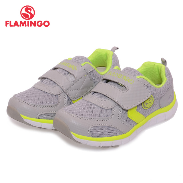 FLAMINGO 2016 New Arrival Spring Kids Russian brand High Quality Fashing Sneakers Children anti-slip Sport Shoes NK5615 / NK5616