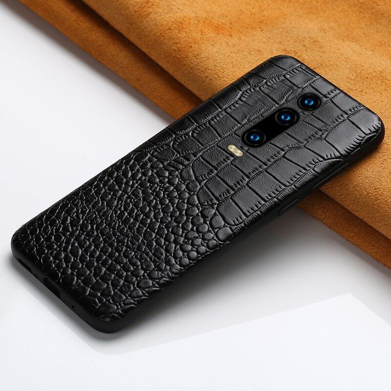 Genuine custodia In Pelle telefono per Xiao mi rosso Mi K20 K20 NOTA PRO 7 Note 5 5 plus 4X360 coperchio di protezione Per mi 9 9 t 9SE 8 8SE 8 lite