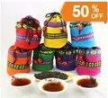 Promoção China Yunnan chá Puer chá cozido Chen pu'er chá puerh chá frouxo pu-er mínimo de embalagem saco do presente ordem 100g