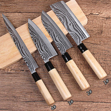 Free Shipping LD High Quality Stainless Steel 3 Pieces Kitchen Set Knives Japanese Chef Knife Vegetable Fruit Paring