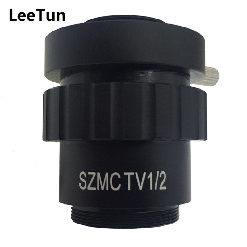LeeTun Stereo Microscope 0.5X 1/2CTV CCD Camera Interface C Mount Adapter Lens USB Electronic Eyepiece Reduction Lens SZMCTV1/2 anne klein часы anne klein 2674bkgb коллекция dress