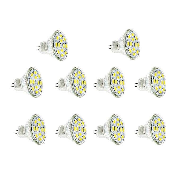 Светодиодная лампа MR11 GU4, 10 шт./лот, 12 В, теплый/холодный белый свет, 2 Вт/4 Вт/6 Вт, прожектор для потолочных светильников/оконного дисплея
