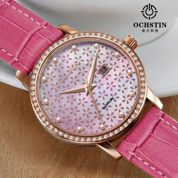 2016 New Elegant Women Watches Ochstin Famous Brand Bracelet Watch Fashion Luxury Ladies Quartz Wrist Watche Relogio Feminino