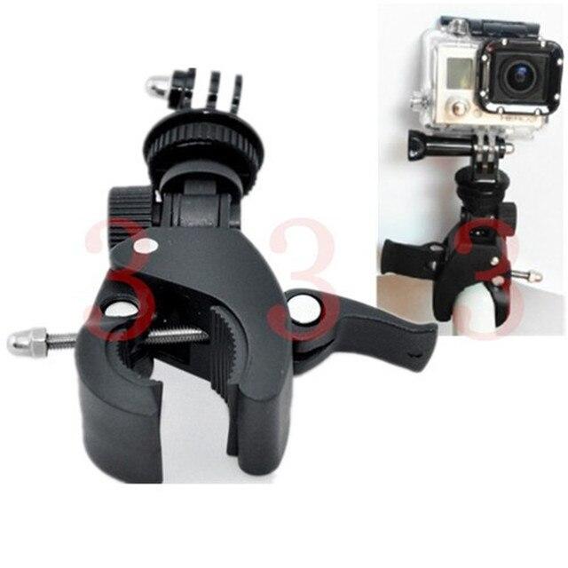 f r gopro motorrad fahrrad lenker stativ adapter halter. Black Bedroom Furniture Sets. Home Design Ideas