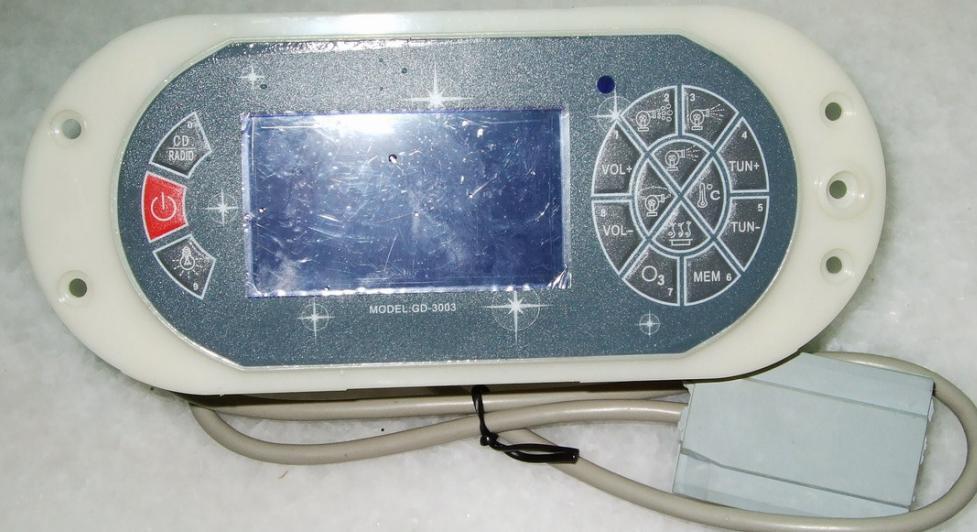 China spa bathtub controller GD3003 & hot tub control panel GD 3003 GD-3003 onlyChina spa bathtub controller GD3003 & hot tub control panel GD 3003 GD-3003 only