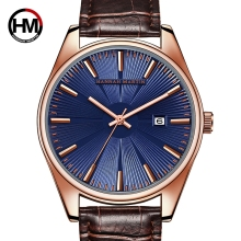 Hannah Martin Watch Men Top Brand Luxury Men Quartz Watch Leather Clock Men Watches Relogio Masculino Horloges Mannen Erkek Saat migeer man crystal quartz wrist watch stainless steel analog relogio masculino watch men horloges mannen top brand luxury clock