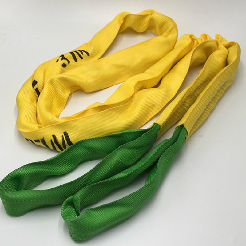 Flexible Sling Lifting Belt Lifting Belt Flexible Lifting Belt Two Clasp Lifting Chain Straps Weight 2 Tons 1m