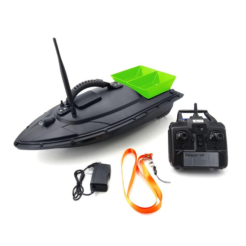 Flytec 2011 5 5 4km h RC Boat Fish Finder Fish Boat 1 5kg 500m Remote