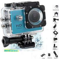 1080P HD Im Freien Mini Sport Action Kamera Wasserdicht IP Kamera Cam DV gopro stil gehen pro mit Bildschirm Voll farbe Wasser beständig