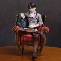 Attack on Titan Levi Ackerman PVC Figure Collectible Model Toy 12.5cm