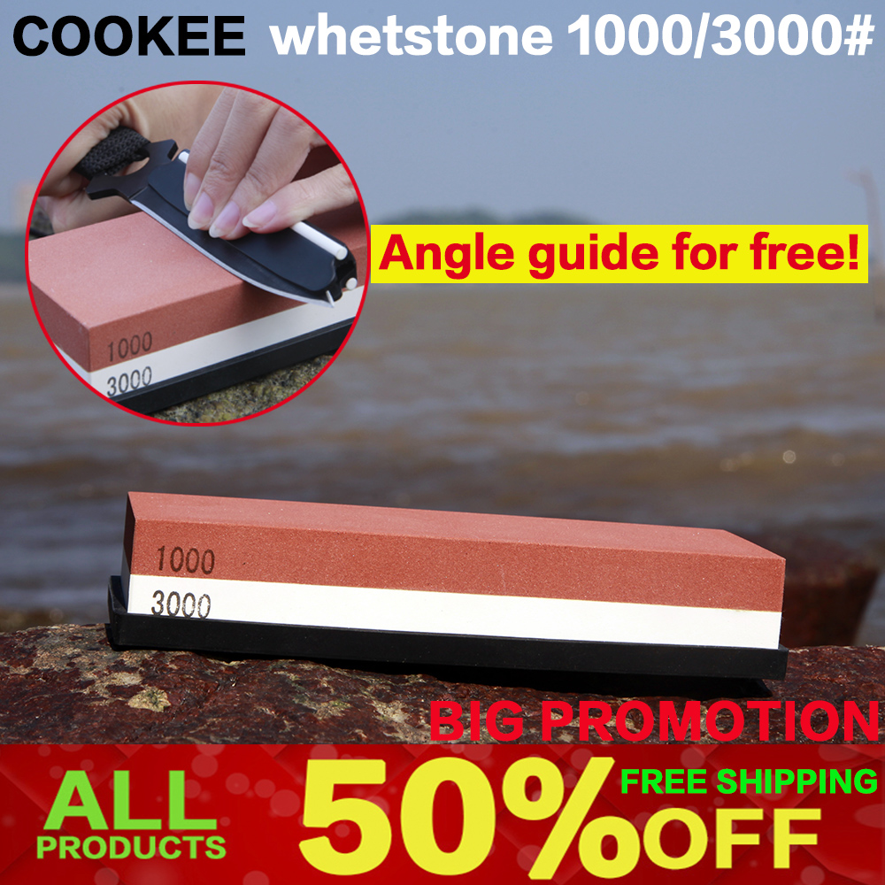 Profession Kitchen Whetstone Sharpening Stones for a Knife Double Side Sharpener Knife System 1000 3000 angle