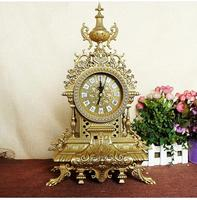 factory Zinc alloy Intensive cultivation Royal gifts Metal decoration clock Riches and honour Creative furnishing articles