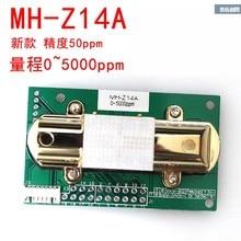 NDIR CO2 Датчик MH-Z14A инфракрасный датчик углекислого газа модуль, последовательный порт, ШИМ, аналоговый выход с кабелем MH-Z14