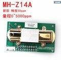 Envío gratis NDIR CO2 SENSOR MH-Z14A infrarrojo de dióxido de carbono módulo, puerto serie, pwm, salida analógica con cable MH-Z14