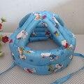 16 цветов защитный шлем для детей регулируемая малышей девочки мальчики защитный шлем дети голову безопасности детские шапки Рождественский подарок